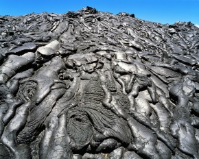 溶岩 パホイホイ